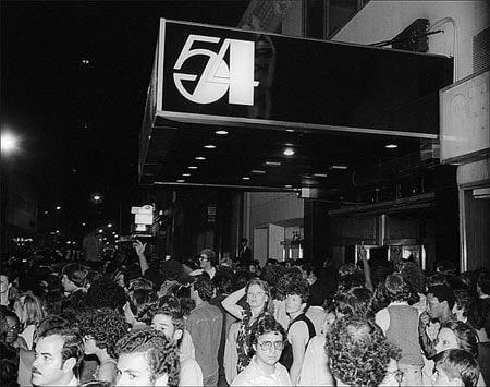 Studio 54. Un sitio frecuentado por gente como Andy Warhol, Michael Jackson, o Rod Stewart