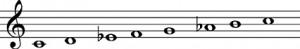 escala-armonica-do-menor