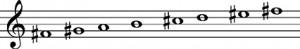 escala-armonica-fa-sostenido-menor