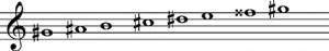 escala-armonica-sol-sostenido-menor