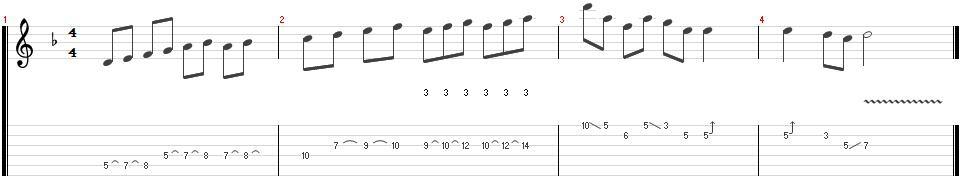 4-ligados técnicas para tocar heavy metal