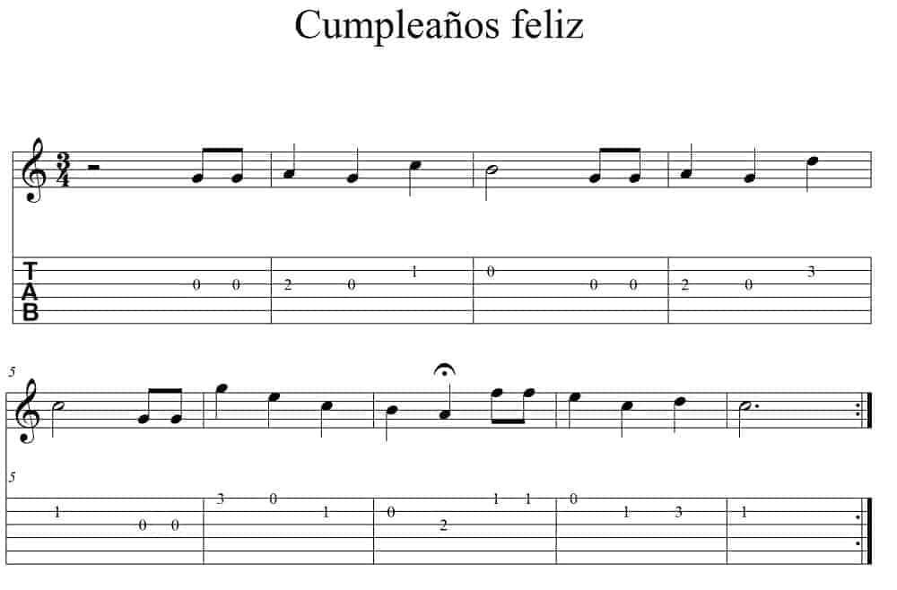Canciones faciles para guitarra 3