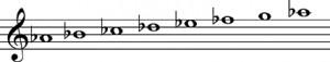 escala-armonica-la-bemol-menor