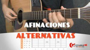afinaciones alternativas en guitarra