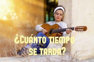 cuánto tiempo se tarda en aprender a tocar la guitarra portada