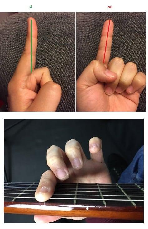 la cejilla en la guitarra la manera correcta