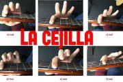 la cejilla en la guitarra portada