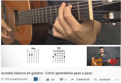 como leer acordes de guitarra perspectiva